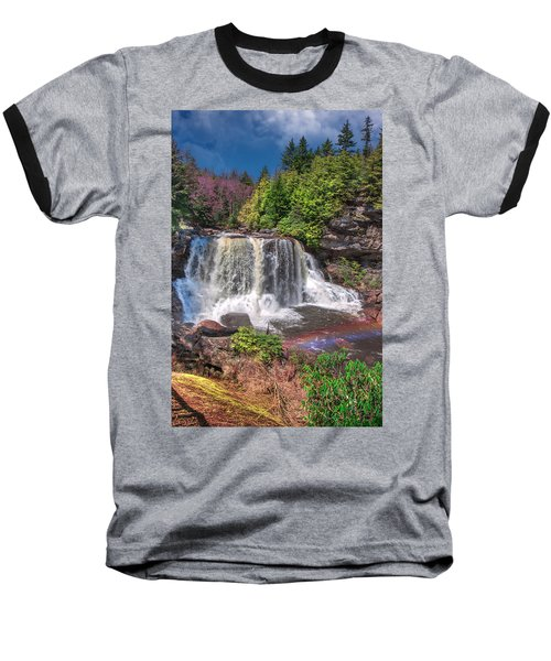 Spring At Blackwater Falls Baseball T-Shirt