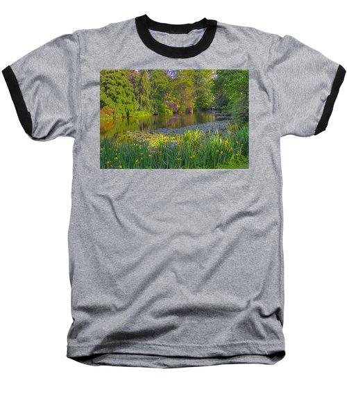 Spring Morning At Mount Auburn Cemetery Baseball T-Shirt
