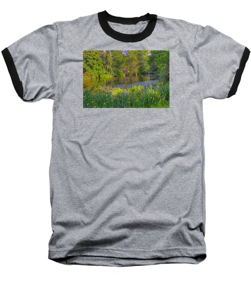 Spring Morning At Mount Auburn Cemetery Baseball T-Shirt