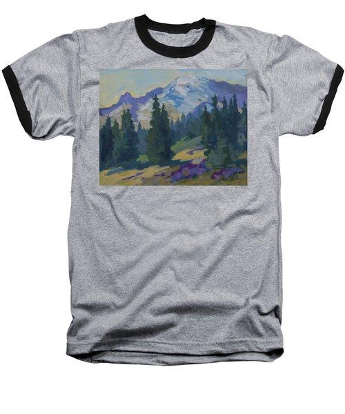 Spring At Mount Rainier Baseball T-Shirt