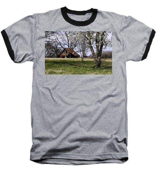 Baseball T-Shirt featuring the photograph Spring At The Farm In Tyler Tx by Betty Denise