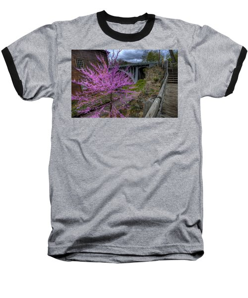 Spring At The Mill Baseball T-Shirt