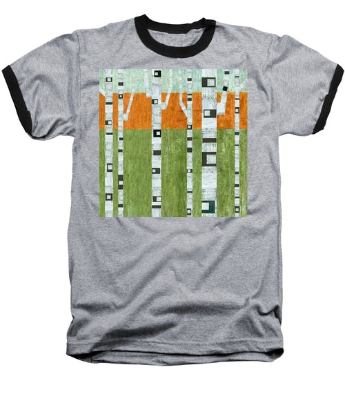 Spring Birches Baseball T-Shirt