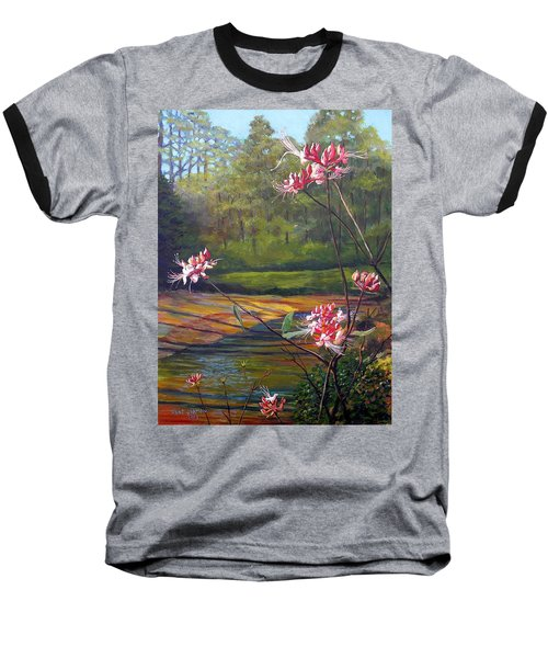 Spring Blooms On The Natchez Trace Baseball T-Shirt by Jeanette Jarmon