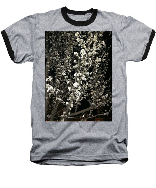 Spring Blossoms Glowing Baseball T-Shirt
