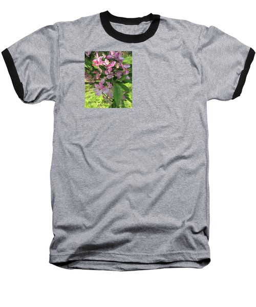 Spring Blossoms - Flower Photography Baseball T-Shirt by Miriam Danar
