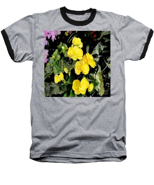 Baseball T-Shirt featuring the photograph Spring Delight In Yellow by Luther Fine Art