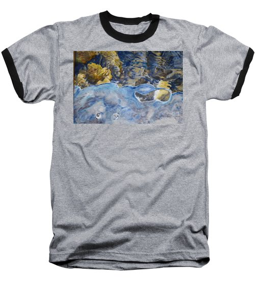 Baseball T-Shirt featuring the photograph Spring Drawing A Line In The Ice  by Brian Boyle