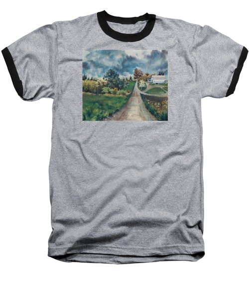 Spring Farm Baseball T-Shirt by Joy Nichols