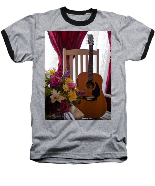 Spring Guitar Baseball T-Shirt