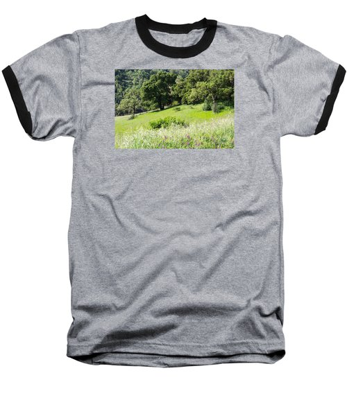Baseball T-Shirt featuring the photograph Spring Hike by Suzanne Luft