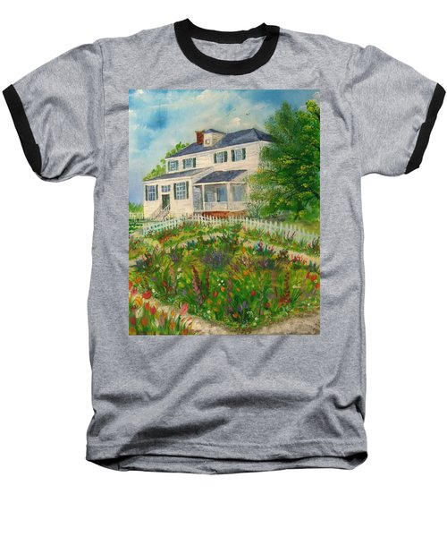 Spring In Colonial Williamsburg- Cole House Baseball T-Shirt