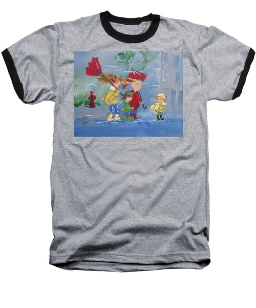 Spring In Our Step Baseball T-Shirt by Terri Einer