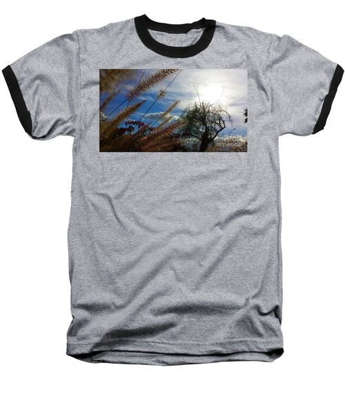 Baseball T-Shirt featuring the photograph Spring In The Air by Chris Tarpening