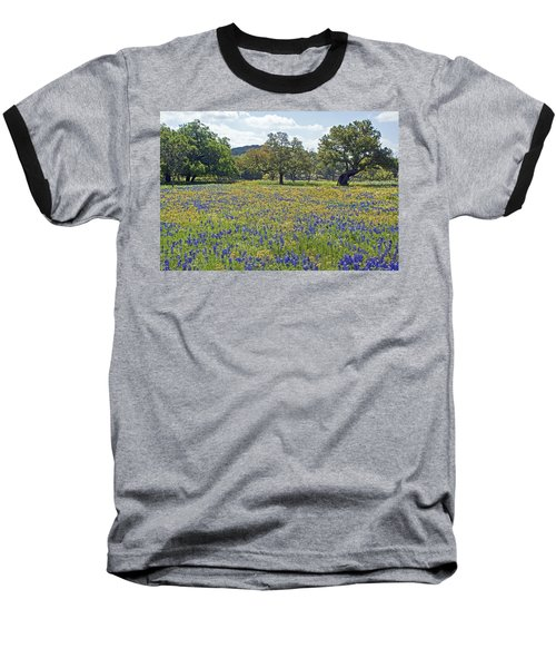 Spring In The Texas Hill Country Baseball T-Shirt by Gary Holmes