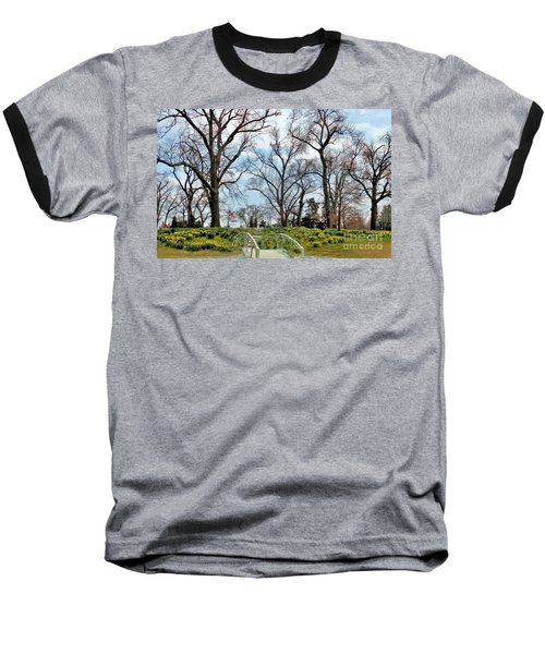 Spring Is Coming Baseball T-Shirt by Janette Boyd