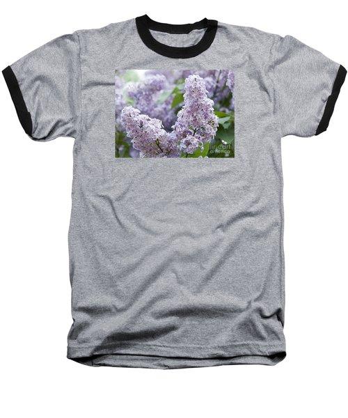 Spring Lilacs In Bloom Baseball T-Shirt
