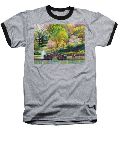 Spring Morning Baseball T-Shirt by Bonnie Mason