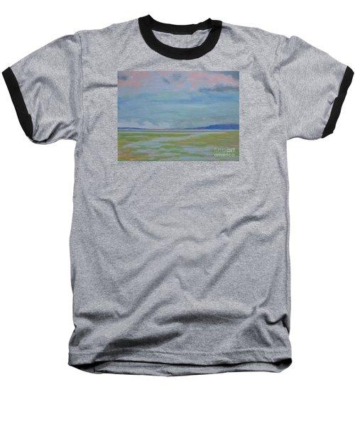 Spring Rain At Lake Jackson Baseball T-Shirt