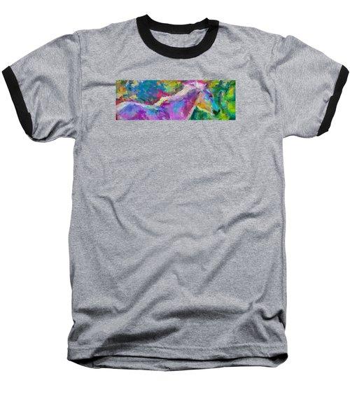 Spring Rain Baseball T-Shirt by Greg Collins