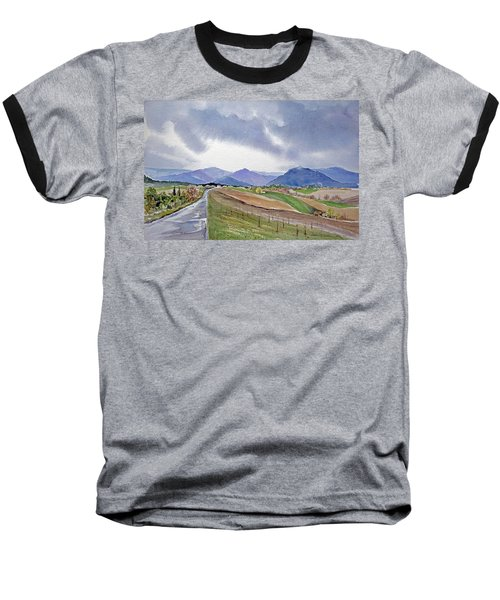 Spring Rain In Tuscany Baseball T-Shirt