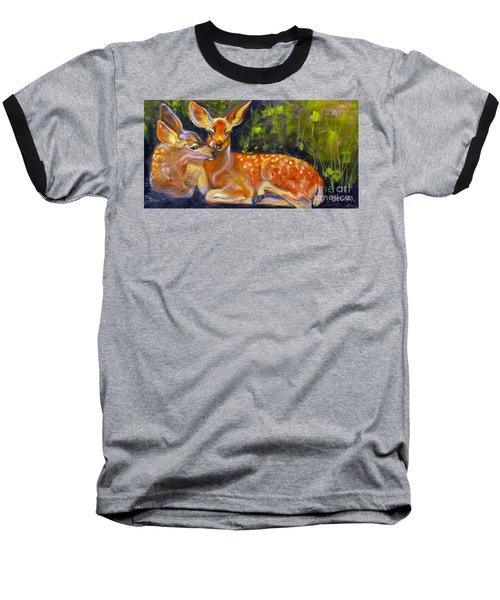 Spring Twins 2 Baseball T-Shirt