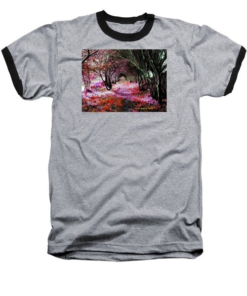 Spring Walk In The Park Baseball T-Shirt by Bruce Nutting