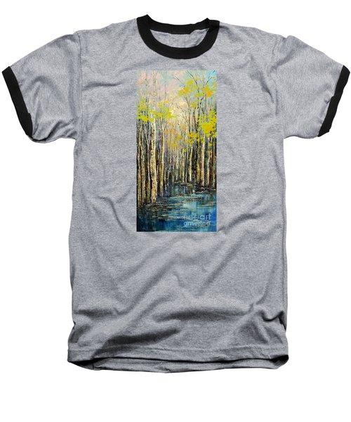 Spring Wind Baseball T-Shirt by Tatiana Iliina