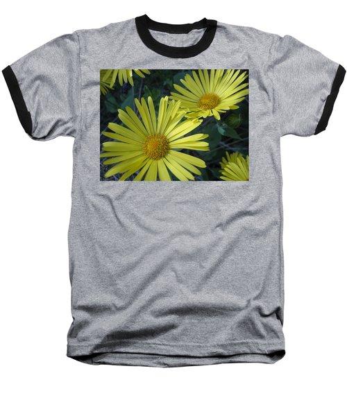 Spring Yellow  Baseball T-Shirt by Cheryl Hoyle