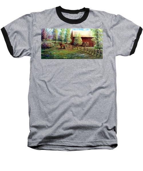 Springborn Horse Farm Baseball T-Shirt
