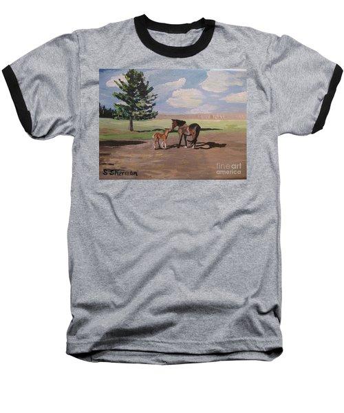 Springtime Foal Baseball T-Shirt