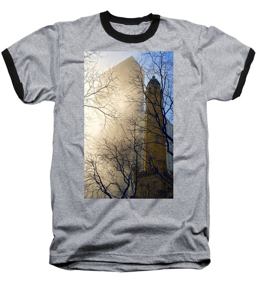 Baseball T-Shirt featuring the photograph Springtime In Chicago by Steven Sparks