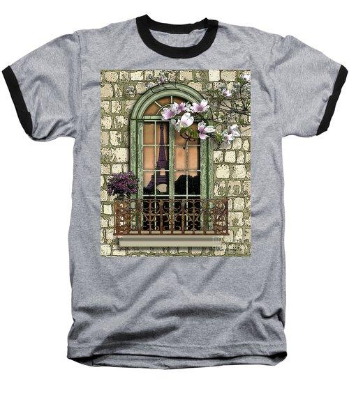 Springtime In Paris Baseball T-Shirt