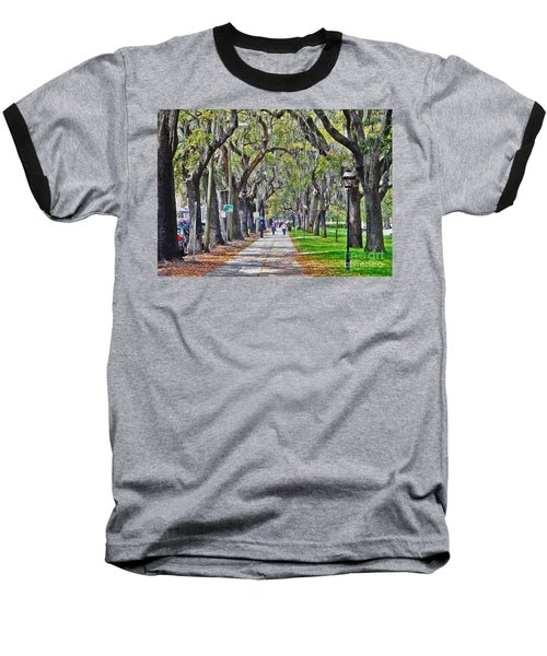 Springtime In Savannah Baseball T-Shirt