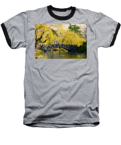 Springtime In Victoria Baseball T-Shirt by Marilyn Wilson