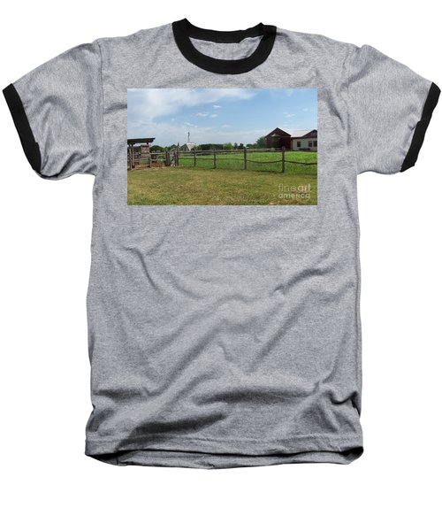 Springtime Serenity Baseball T-Shirt by Susan Williams
