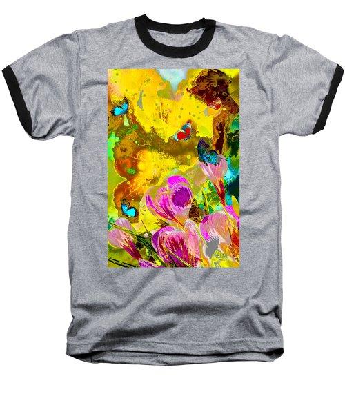 Springtime Splash Baseball T-Shirt
