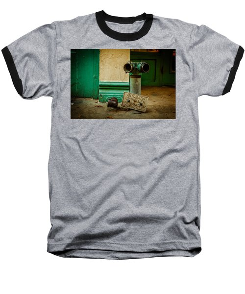 Sprinkler Green Baseball T-Shirt
