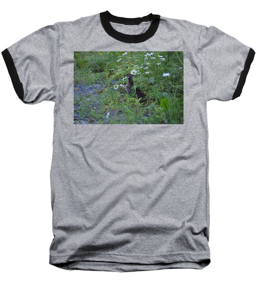 Baseball T-Shirt featuring the photograph Spruce Grouse by James Petersen