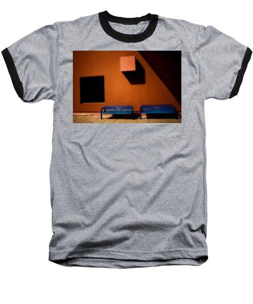 Square Shadows Baseball T-Shirt