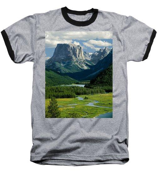 Squaretop Mountain 3 Baseball T-Shirt