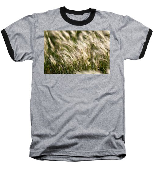 Baseball T-Shirt featuring the photograph Squirrel Grass by Fran Riley