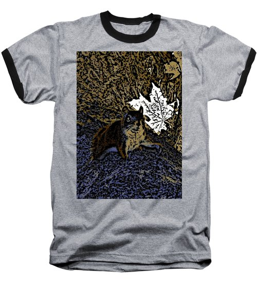 Baseball T-Shirt featuring the photograph Squirrel by Jason Lees