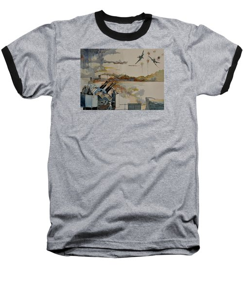 Ss Ohio II Baseball T-Shirt by Ray Agius