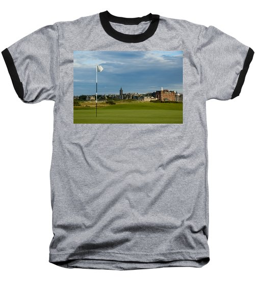 St Andrews Golf Baseball T-Shirt by Jeremy Voisey