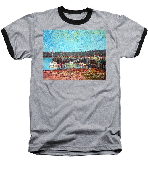 St Andrews Wharf Baseball T-Shirt