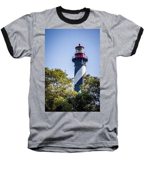St. Augustine Lighthouse Baseball T-Shirt