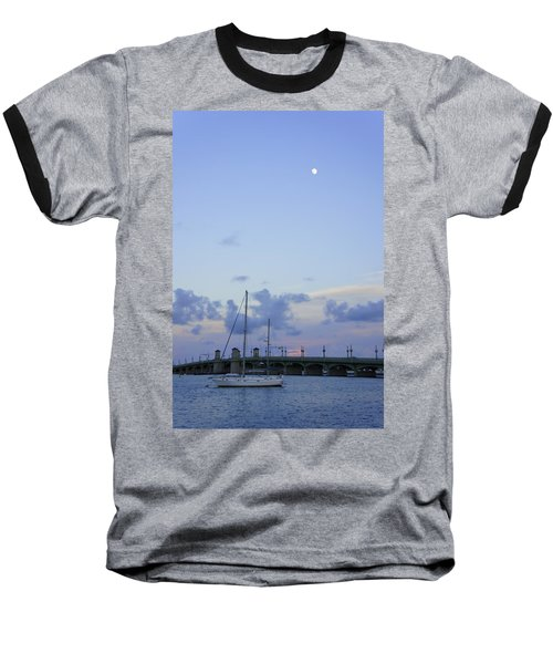 St. Augustine Sunset Baseball T-Shirt