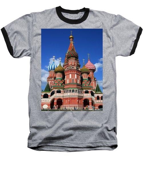 St. Basil's Cathedral Baseball T-Shirt