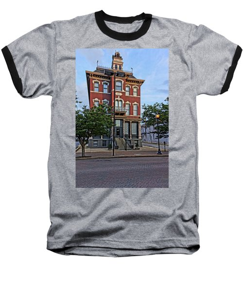 St. Charles Odd Fellows Hall Built In 1878 Dsc00810  Baseball T-Shirt by Greg Kluempers